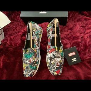 Toms, women's Marvel Canvas Shoes